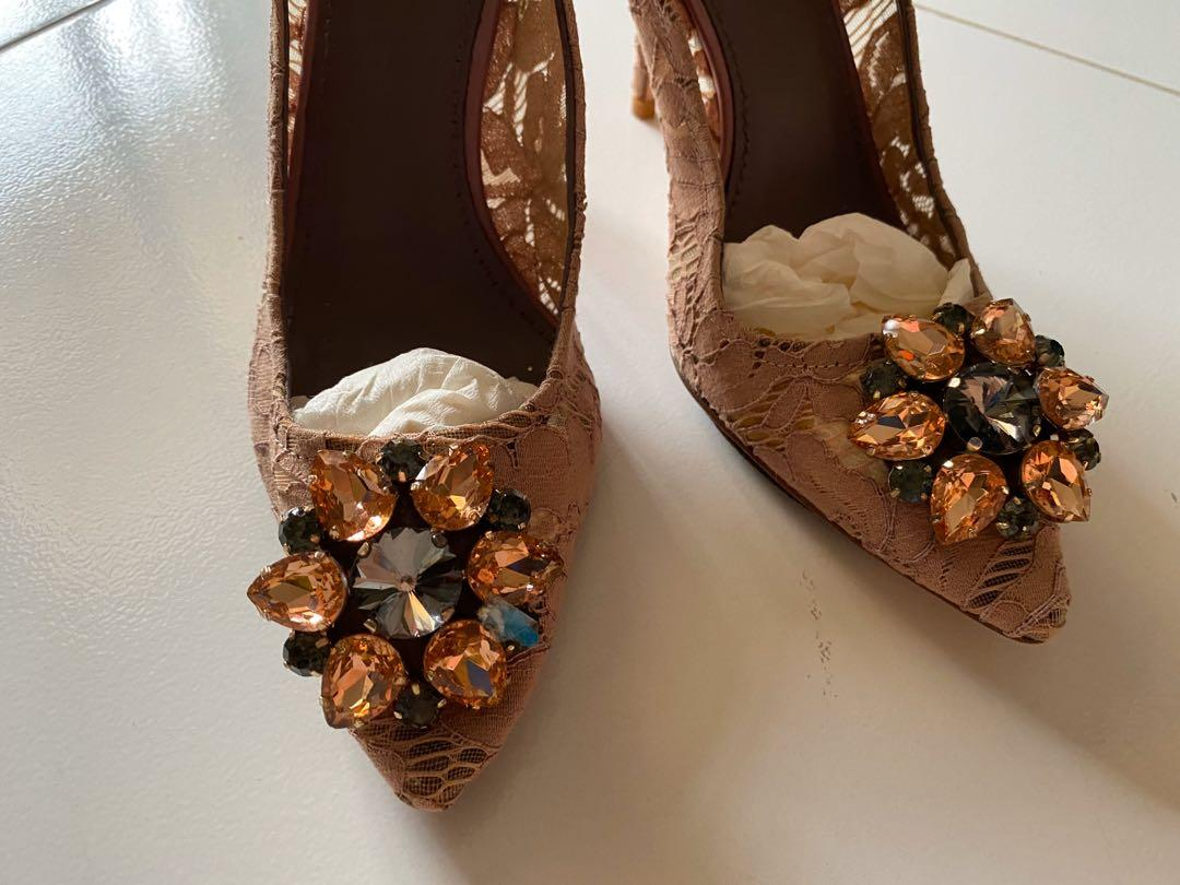 used designer heels