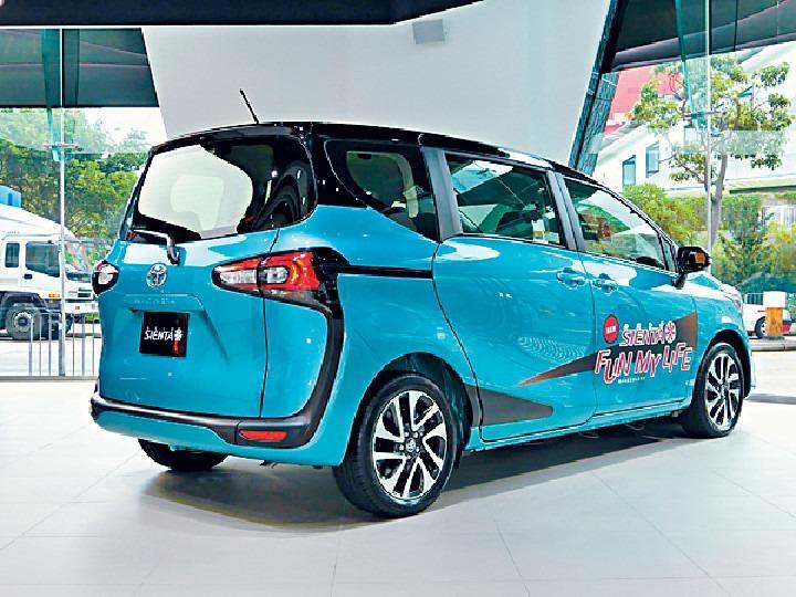 Toyota Sienta 1.5 Hybrid Auto