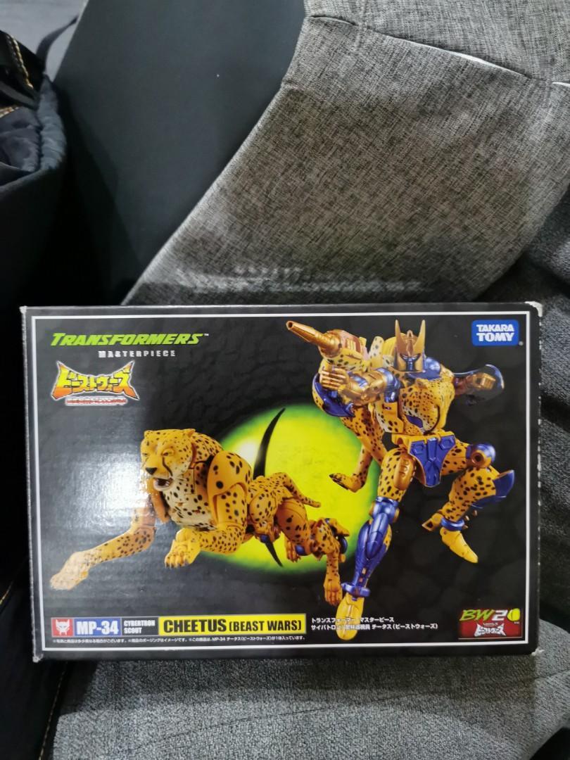 Transformers Takara Tomy Masterpiece MP-34 Cheetor Beast Wars New Sealed