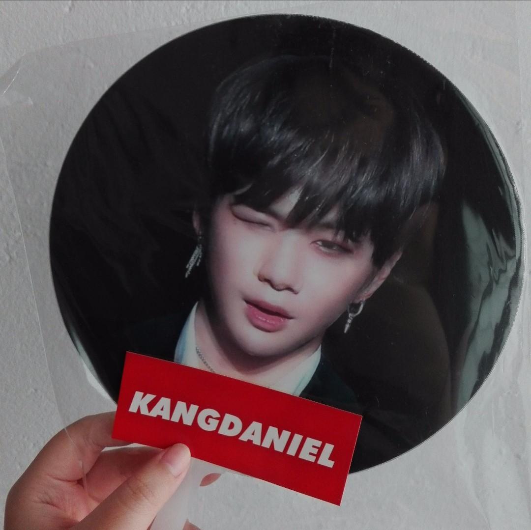 WANNA ONE Kang Daniel lenticular fan by @peachdrop