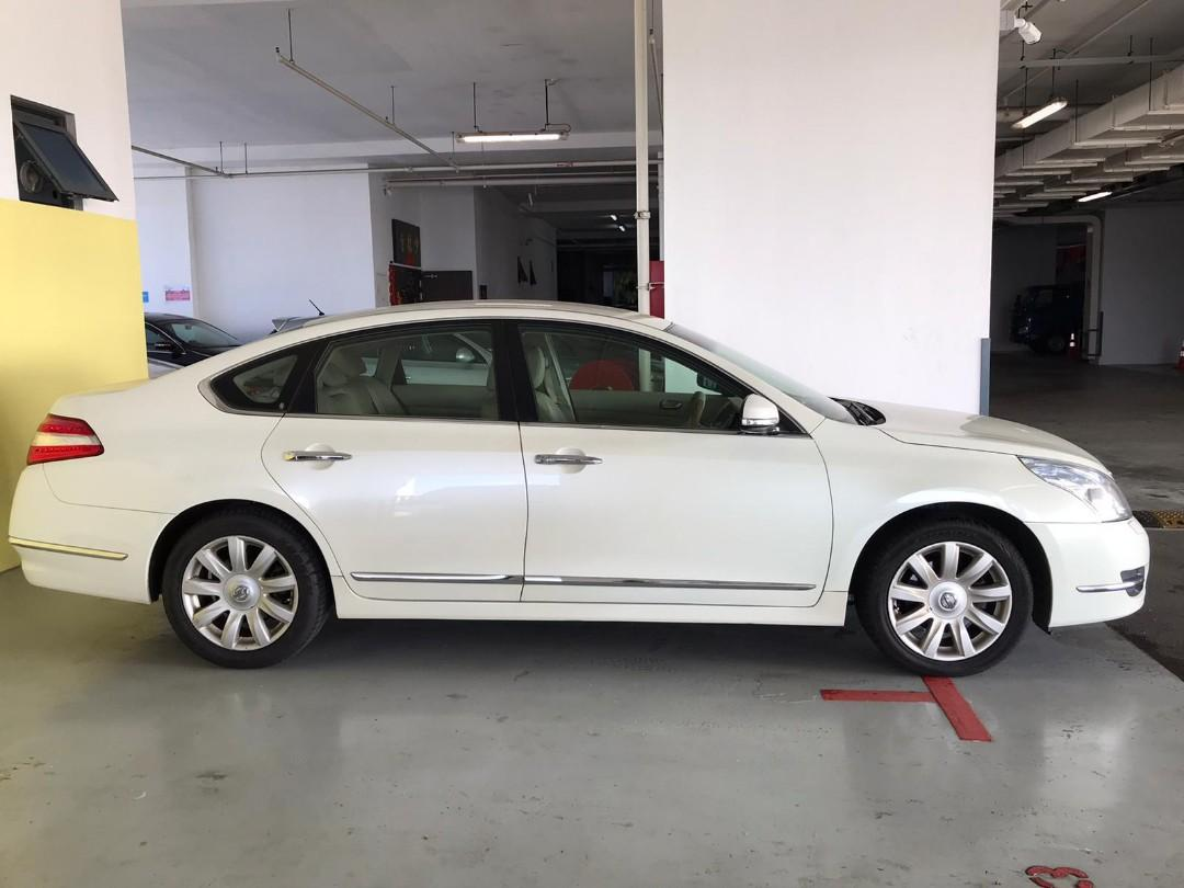 White Nissan Teana for rent $500 DRIVEAWAY 87844805