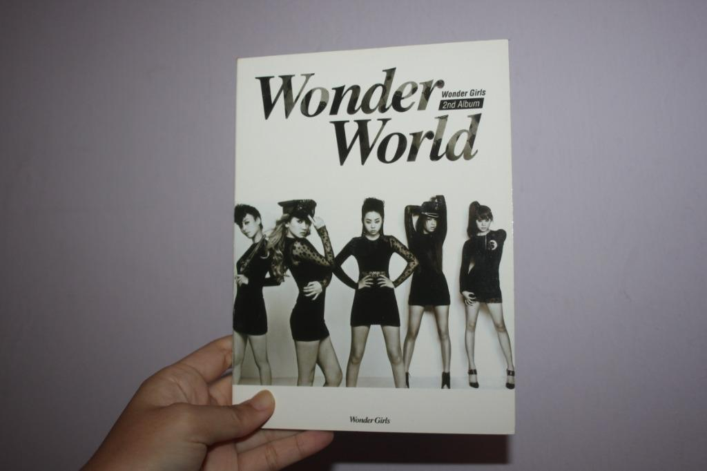 Wonder Girls 2nd Album Wonder World | CD+CD | K-POP