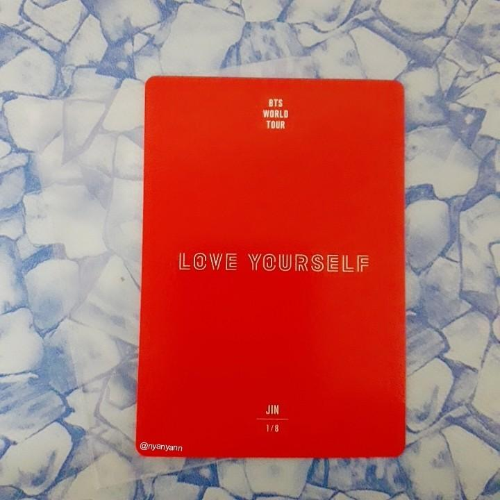 [WTS Only] BTS Love Yourself World Tour (Japan) Mini Photocard