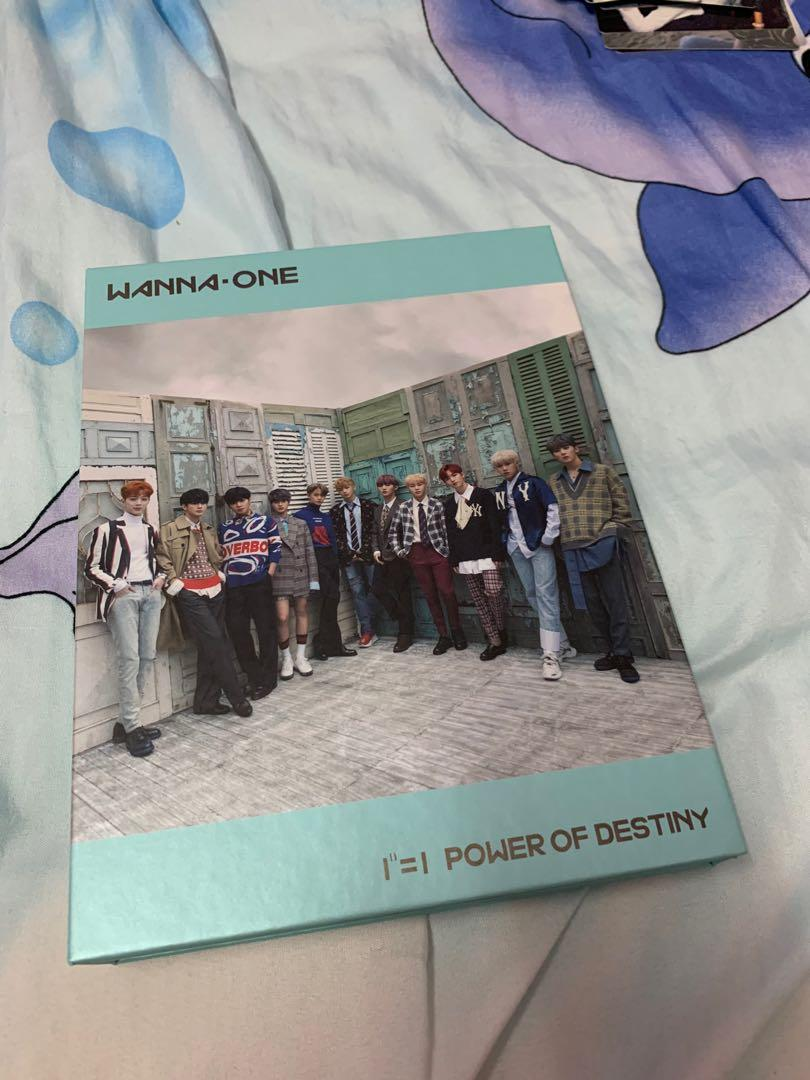 (Wts) Wanna one album power of destiny Romance version