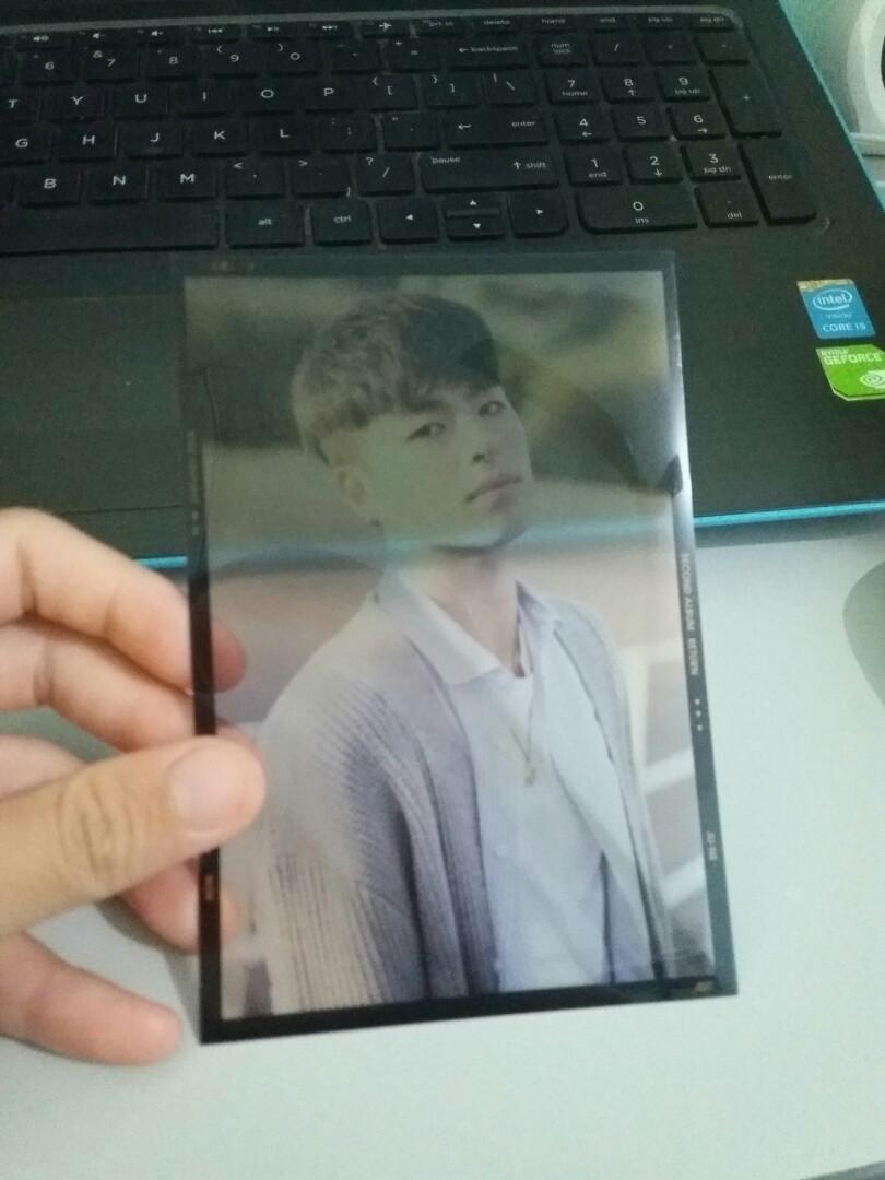 WTT iKON return album black version (June Photofilm)