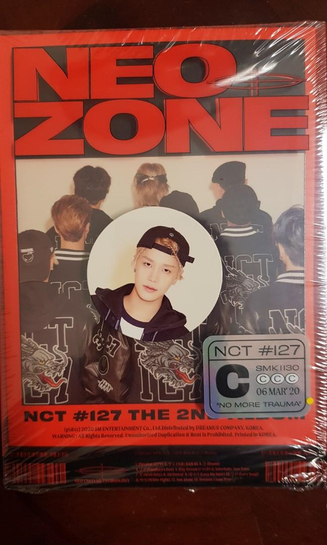 [WTS] NCT 127 Neo Zone Circle Card (C Version)