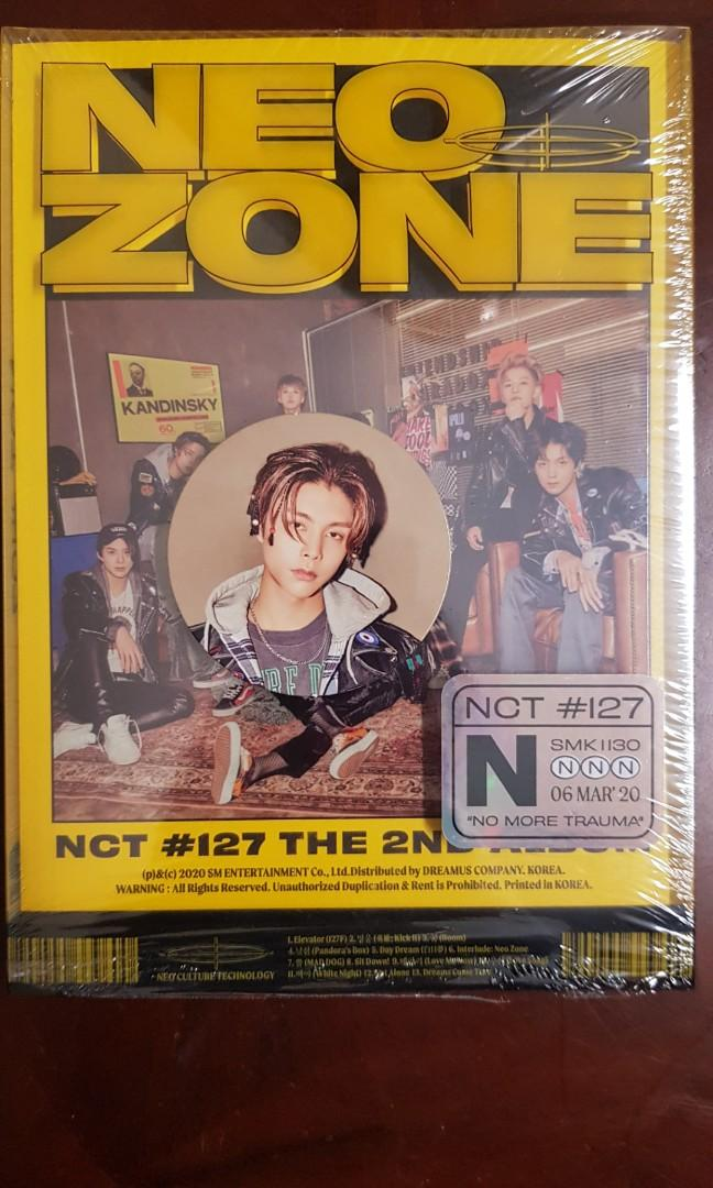 [WTS] NCT 127 Neo Zone Circle Card (N Version)