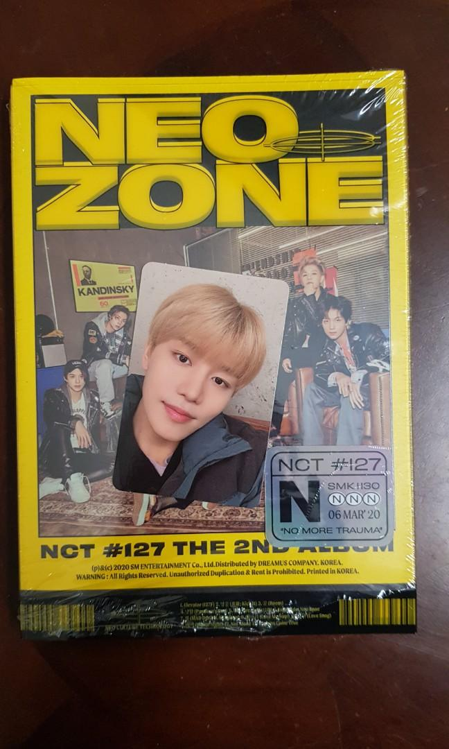 [WTS] NCT 127 Neo Zone Photocard (N Version)