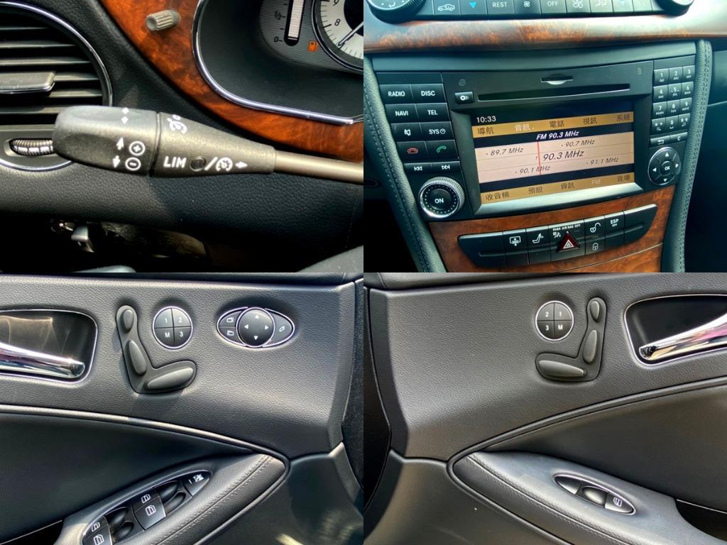 [0元交車 銀行鑑價可貸120萬 5~60萬資金隨你貸] 2010 CLS350 黑色 小改款 配備滿滿 最美的四門轎跑