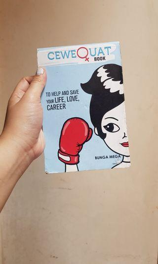 CeweQuat : To Help and Save Your Life, Love, Career - Bunga Mega