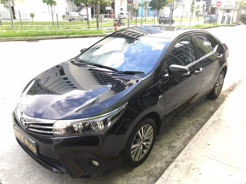 2015 Toyota Corolla Altis 1.6L CVT for Grab/Personal Use