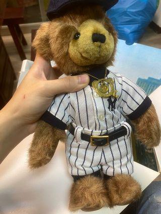 王建民泰迪熊 美國大聯盟