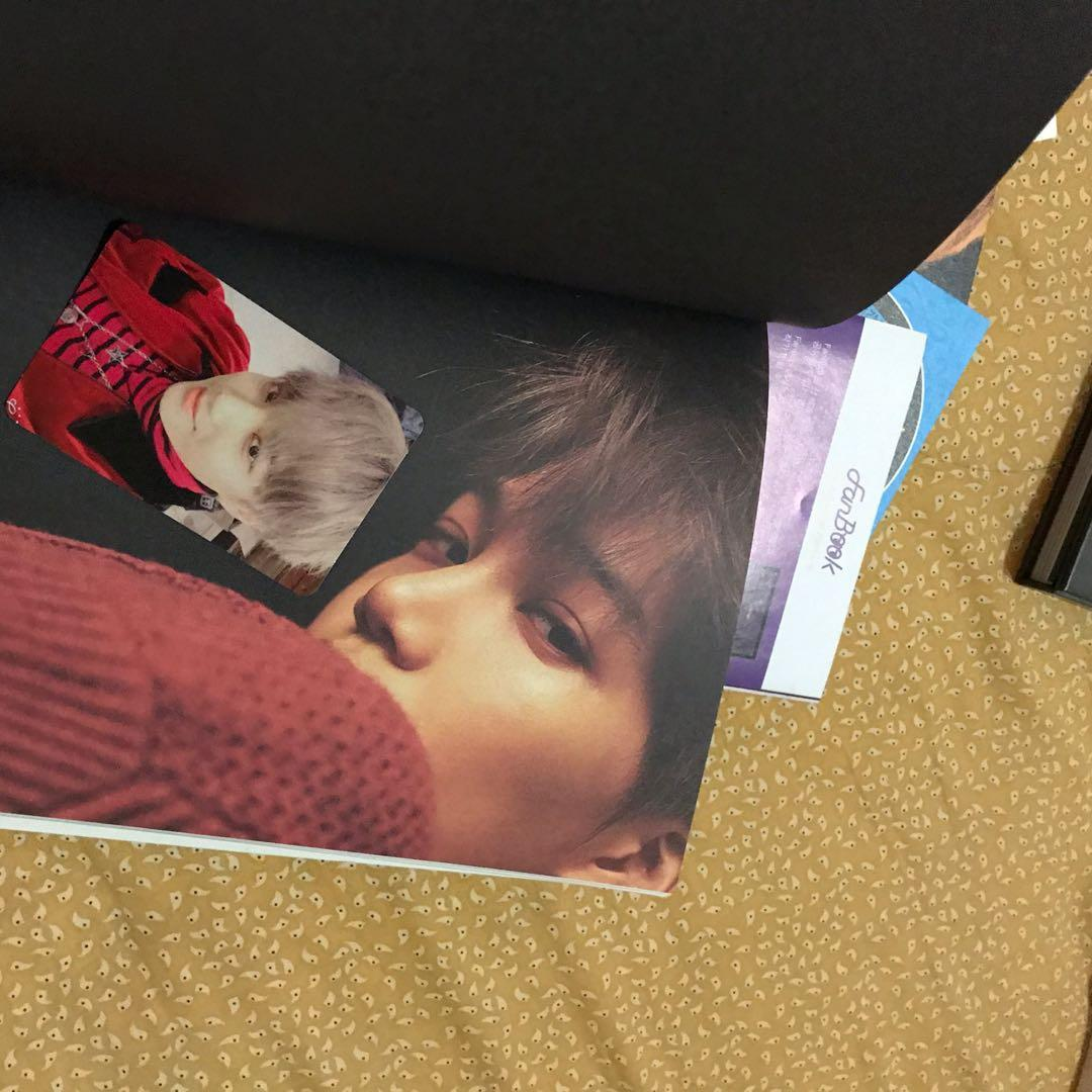 ( UNSEALED ) EXO WINTER SPECIAL : FOR LIFE KAI PC XIUMIN POSTCARD WITH POSTER