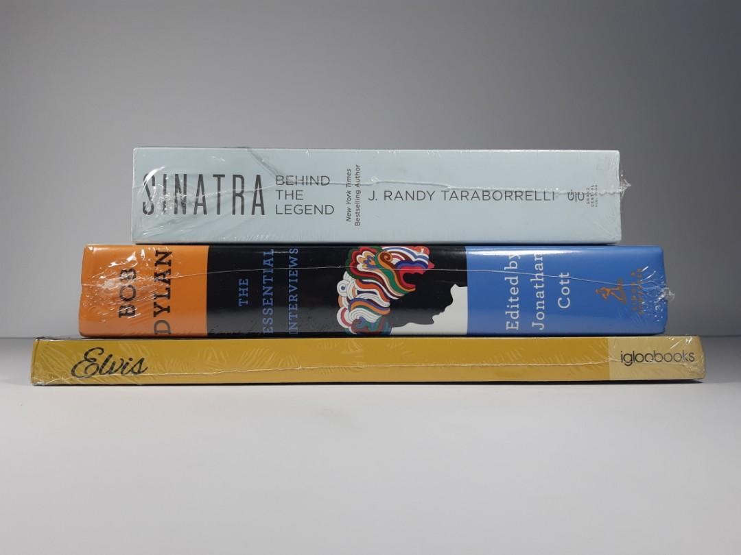[Book Sale] Classics, Music, Biography, Non-fiction Books 01 (Sinatra, Bob Dylan, Elvis)