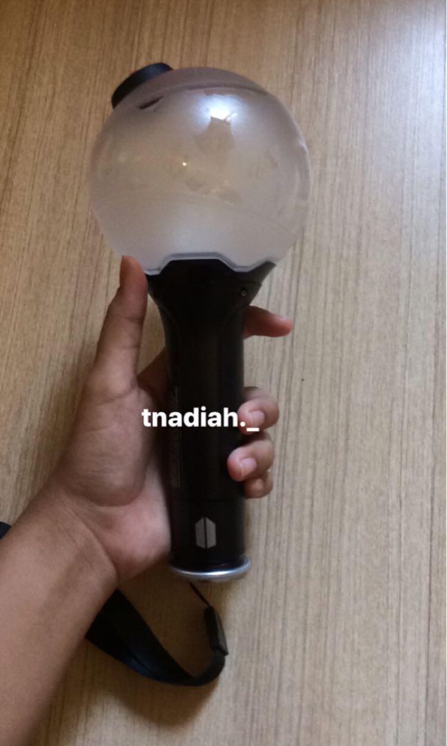 BTS light stick ver.3 army bomb original  (preloved)