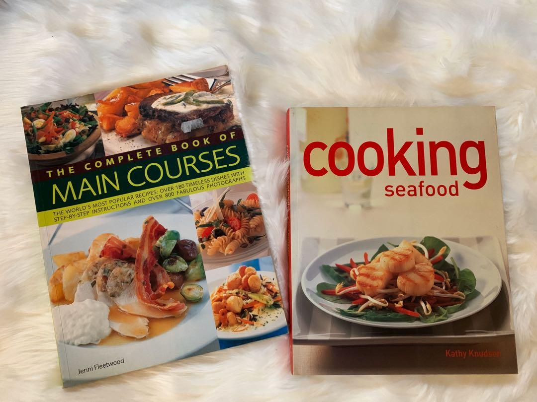 Cooking Seafood, The Complete Book of Main Courses, Ultimate Party Drinks, Real Beer and Good Eats