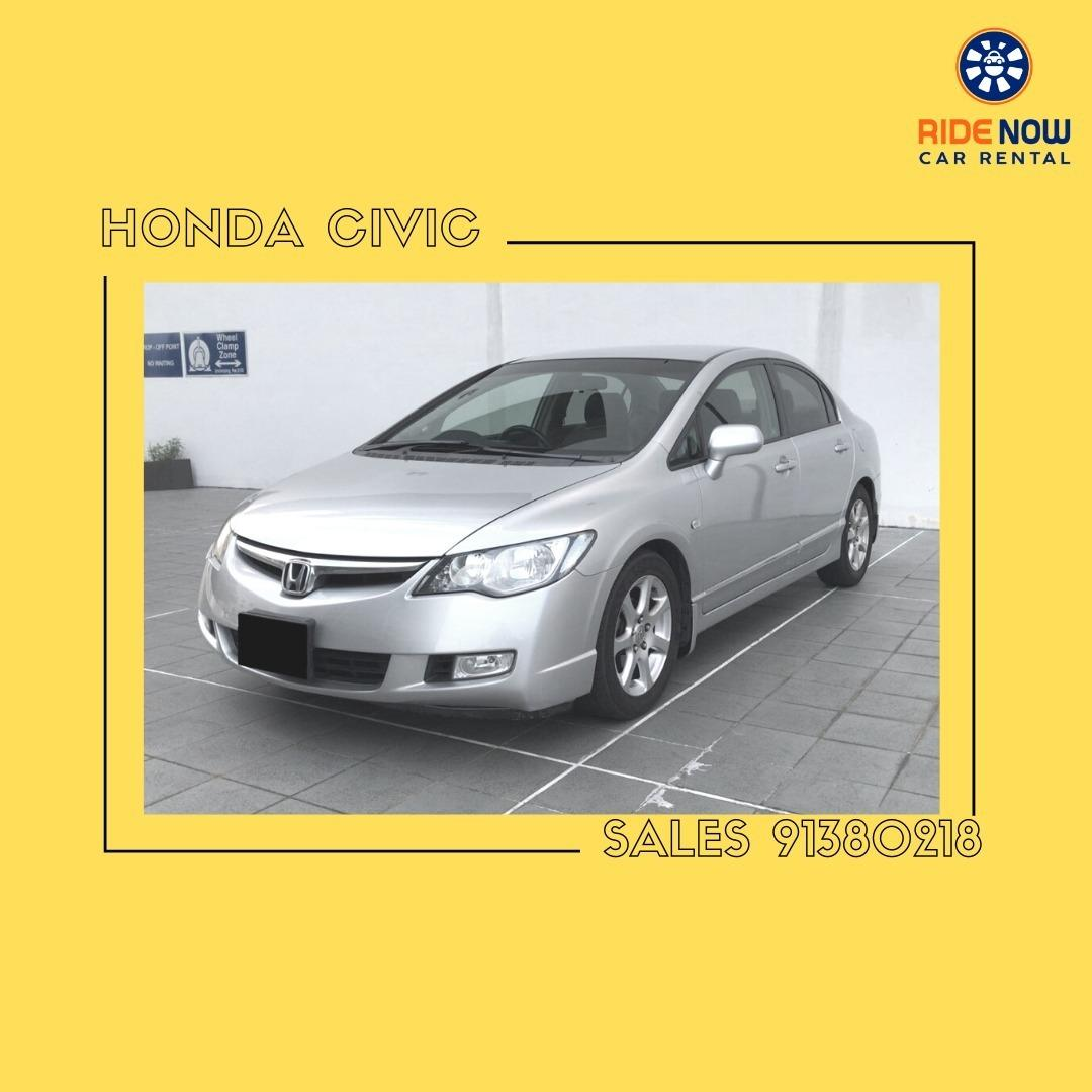 Honda Civic 1.6A VTEC Sparkling Silver Perfect vehicle for Everyday use! Sporty look! Good for Young New Drivers!