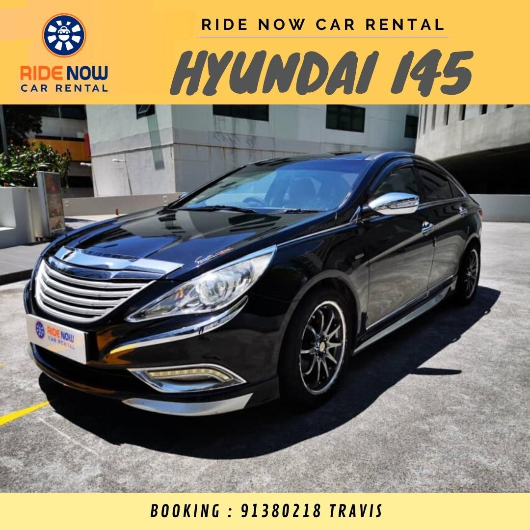 Hyundai I45 2.4A BodyKit Sleek Black Luxury Sedan! Perfect for Young Execs!