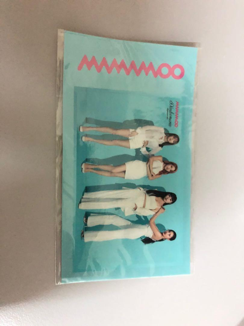 MAMAMOO JAPAN SINGLE ALBUM LIMITED EDITION VER.B +JAPAN BENEFIT STICKER