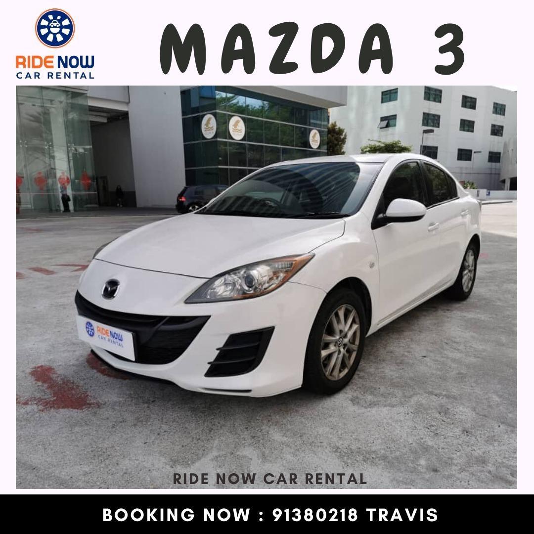 Mazda 3 1.6A SP White Stylish Mazda 3. Sporty Looks!