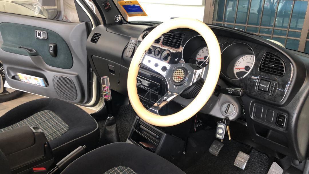 Perodua Kelisa 2005 1.0 (M) fully convert Daihatsu Mira Gino Minilite Version L700