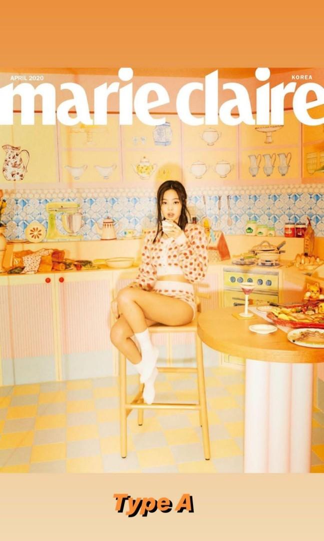 [PRE-ORDER] BLACKPINK JENNIE x GENTLE MONSTER FOR MARIE CLAIRE KOREA - APRIL 2020 ISSUE .