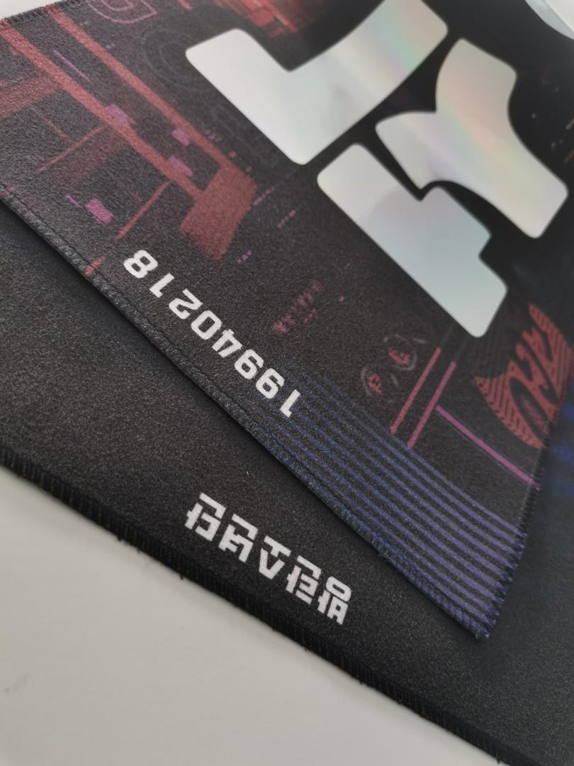 [ReadyStock] J-Hope EGO Hologram Slogan - Cheering Kit - Map of The Soul 7 韩站绒质镭射手幅 防弹少年团 郑号锡 Hoseok
