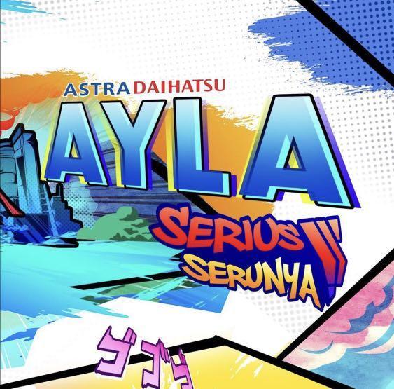 PROMO DP MURAH Daihatsu Ayla mulai 9 jutaan. Daihatsu Pamulang