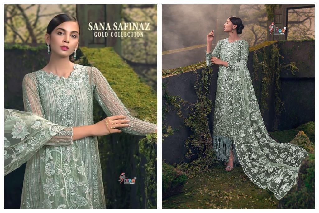 Sana Safinaz Pakistani 3 Pcs Salwar Kameez – Master Replica