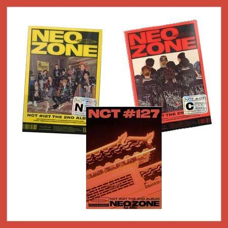 [SET] NCT 127 - Regular 2nd album [NEO ZONE] [N+C+T]