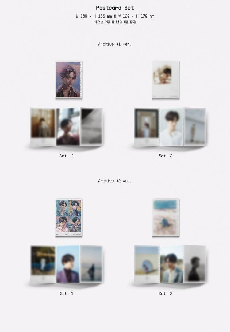 SUHO The 1st Mini Album 'Self-Portrait' (PO-SEALED)