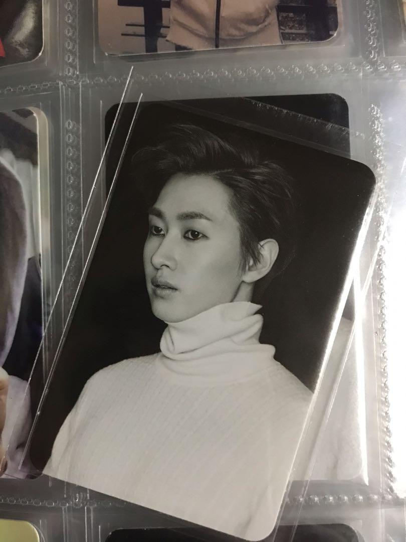 Super Junior - D&E The Beat Goes on Special Edition Album Eunhyuk Photocard
