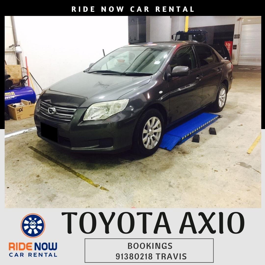 Toyota Axio 1.5A Ready for Grab! Superb Fuel Consumption and Unlimited Mileage!