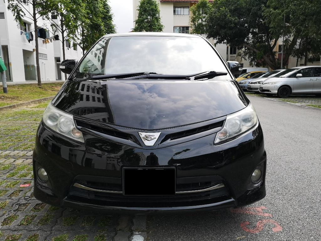 Toyota Estima Aeras with moonroof for rent for grab gojek tada
