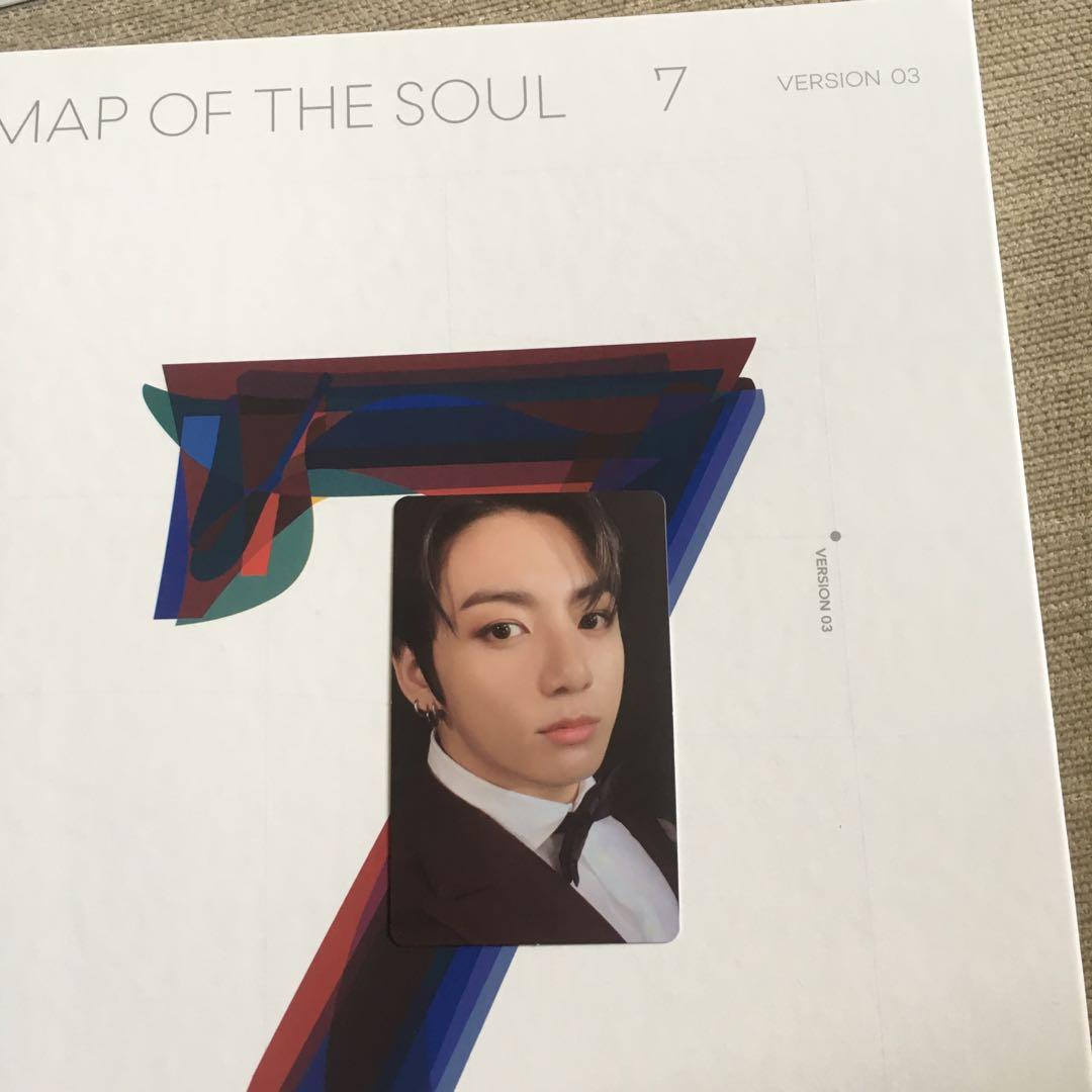 [WTS] BTS Map of the Soul 7 Version 3 with Jungkook Photocard