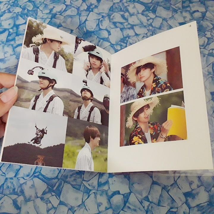 [WTS Only] BTS 2019 Summer Package Taehyung Drawing Diary