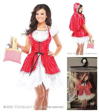 3 Piece Little Red Riding Hood Costume
