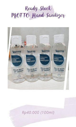 MOTTO Hand Sanitizer