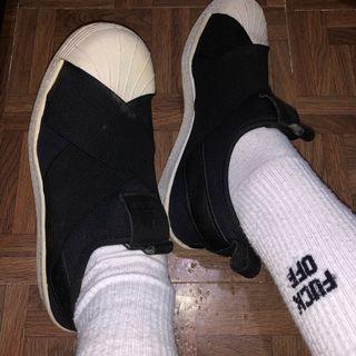 Adidas Superstar Slip 綁帶鞋繃帶鞋