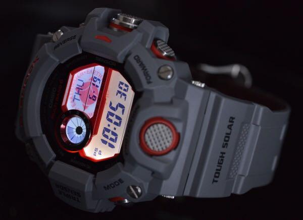 100% Authentic new Japan Only Casio G-Shock ICERC Love the Sea and the Earth 2014 Grey Rangeman GW-9400KJ-8JF watch ultra rare and limited