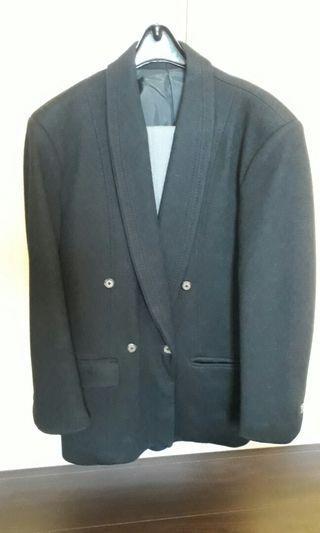 雙排扣西裝外套