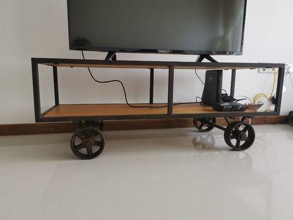 Industrial design TV Console Rack