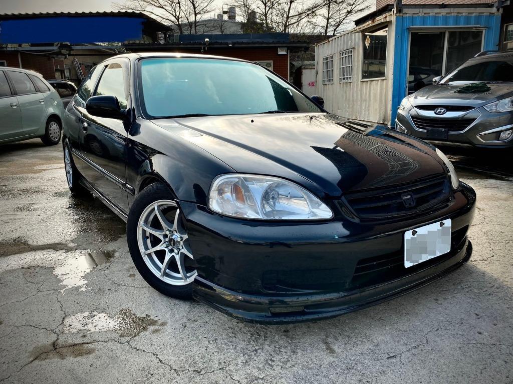 2000年 本田K8三門原廠手 1.6 黑色