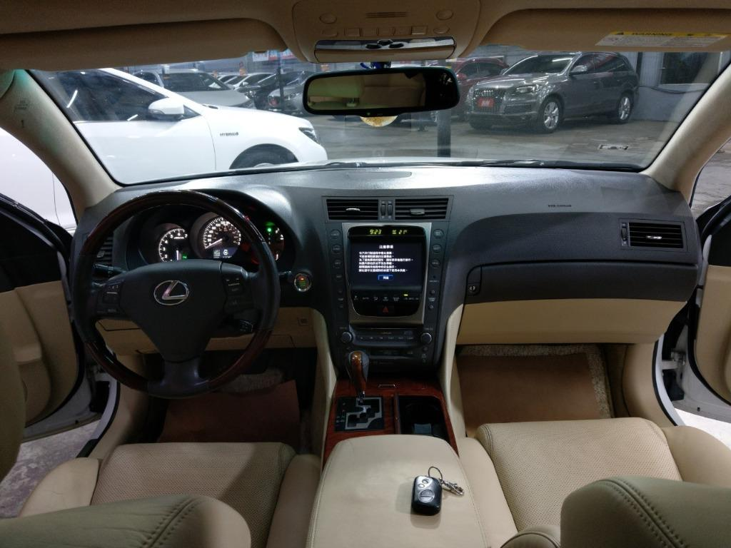 ✨✨2007年 Lexus GS350 旗艦頂級版 白色✨✨超殺優惠23.8萬 實車實價 全貸 超貸 找錢
