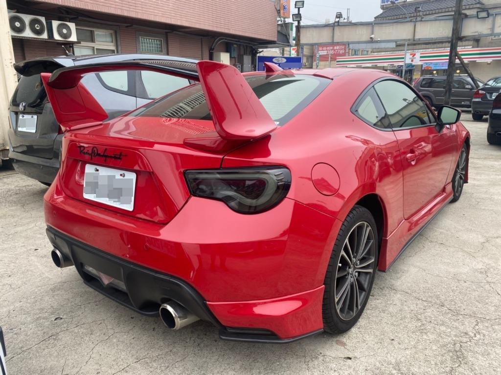 2012年 豐田 86 2.0 紅色