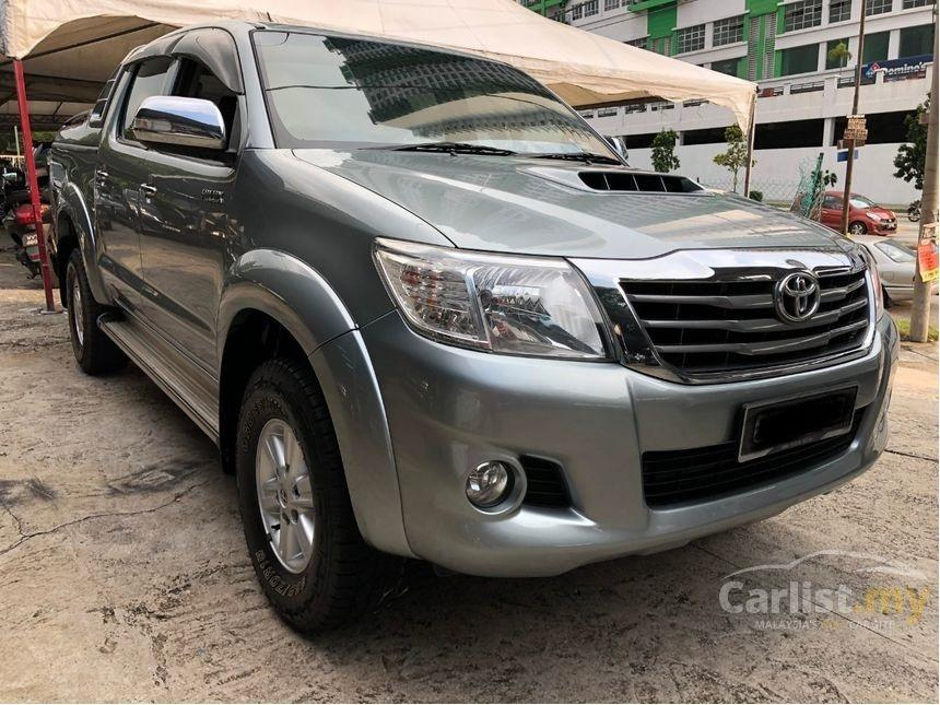 2014 Toyota Hilux 2.5 G (A) VNT One Owner DVD Reverse Camera Boot Cover