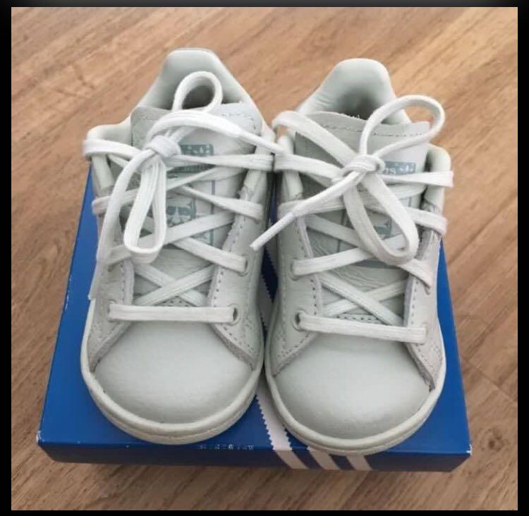 Adidas Stan Smith Kids Shoes Size US 4K
