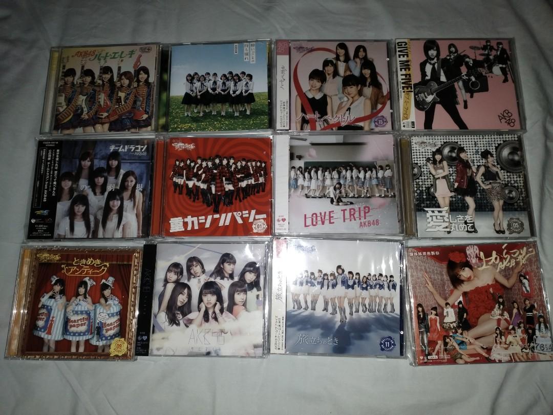 二手AKB48, CD&DVD共60隻