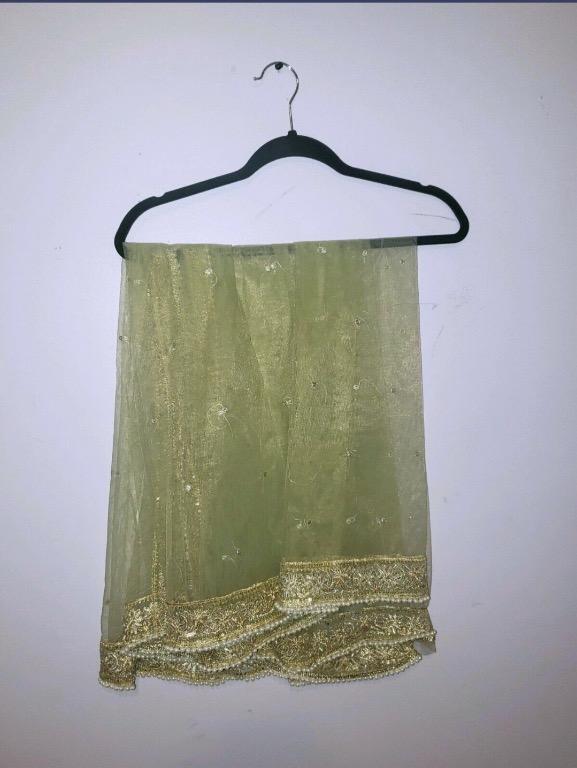 Atif Niaz Pale Green 2 Pcs Pakistani Salwar Kameez – Master Replica