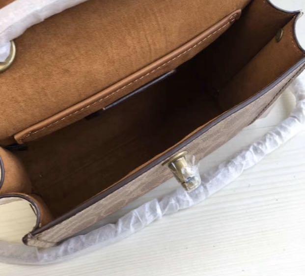 Authentic coach 29417 tea rose sling bag crossbody bag handbag Parker 18!